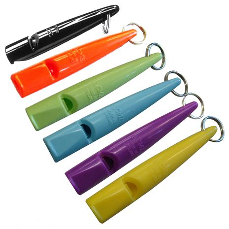 Acme Plastic Dog Whistles - all colours