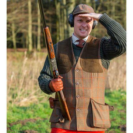 Laksen Hi-Viz Leith Shooting Vest BGA