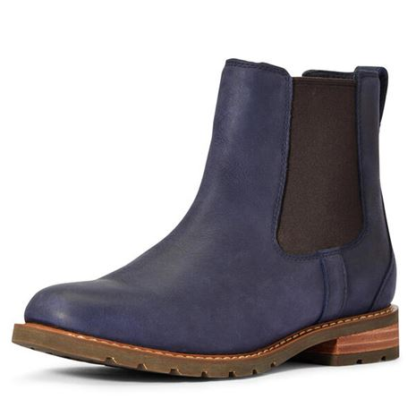 Ariat Women's Wexford H2O Chelsea Boots - Navy