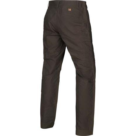 Harkila Asmund Reinforced Trousers - Shadow Brown - Rear
