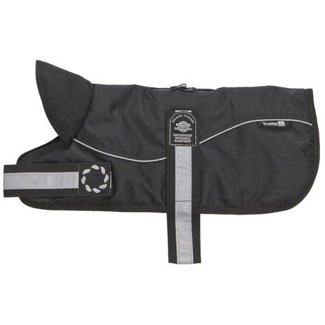Padded Harness Dog Coats - Black