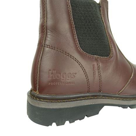 Hoggs of Fife Zeus Safety Dealer Boots- Full Grain Brown