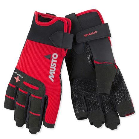 Musto Performance Short Finger Glove - True Red