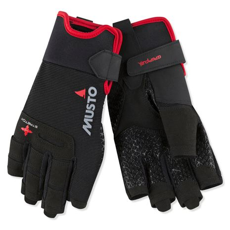 Musto Performance Short Finger Glove - Black