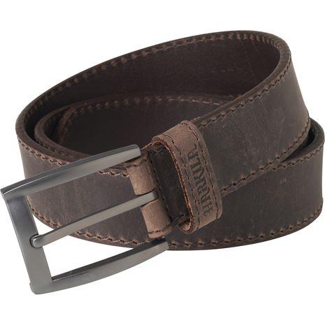 Harkila Arvak Leather Belt Deep Brown