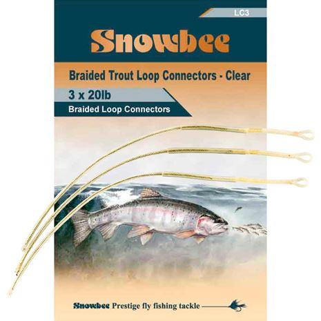 Snowbee Loop Connectors - Clear