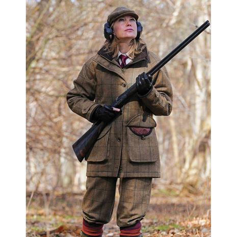 Laksen Eden Ladies Tweed Shooting Breeks