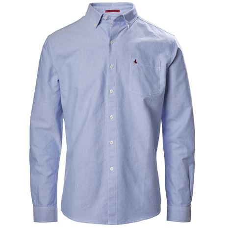 Musto Aiden Oxford Long Sleeve Shirt - Pale Blue