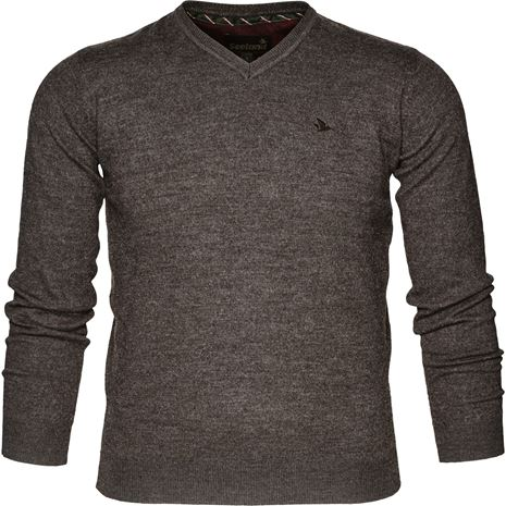 Seeland Compton Pullover - Moose Brown - Front