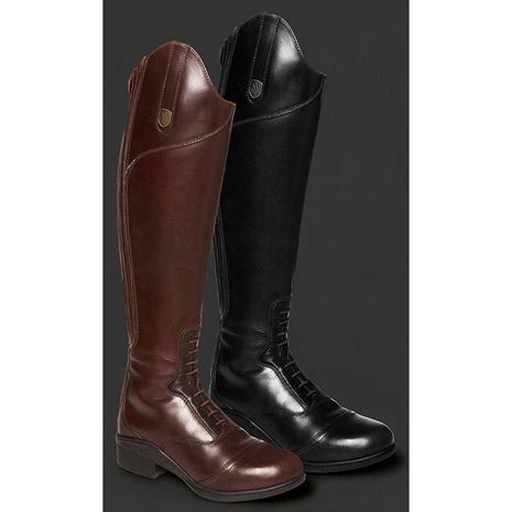 Mountain Horse Aurora Tall Boots - Black and Brown