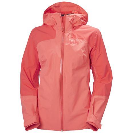 Helly Hansen Women's Verglas 2L Ripstop Shell Jacket - Hot Coral