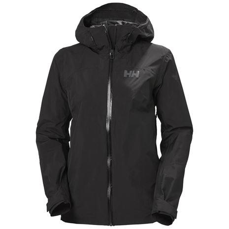 Helly Hansen Women's Verglas 2L Ripstop Shell Jacket - Black