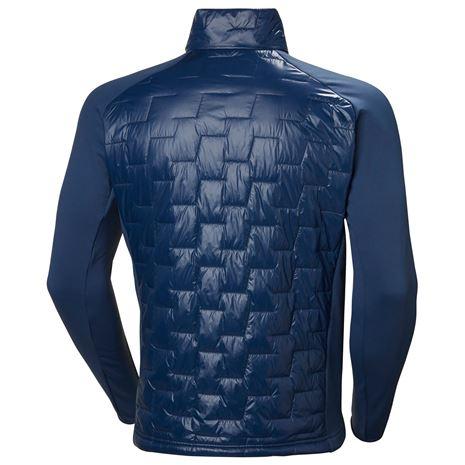 Helly Hansen Lifaloft Hybrid Insulator Jacket - North Sea Blue - Rear