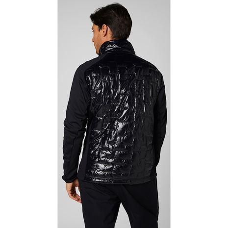 Helly Hansen Lifaloft Hybrid Insulator Jacket - Black - Rear