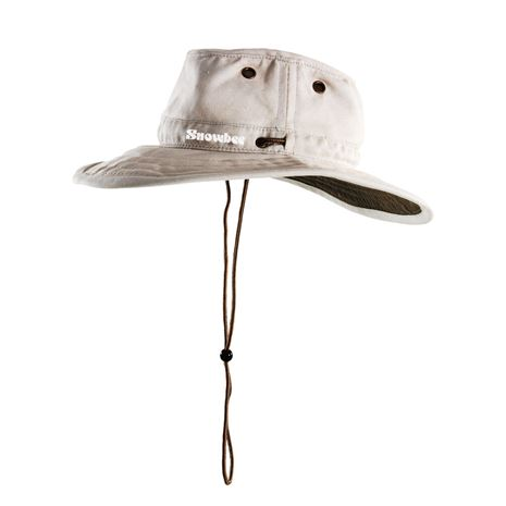 Snowbee Wide Brim Ranger Hat in Stone.