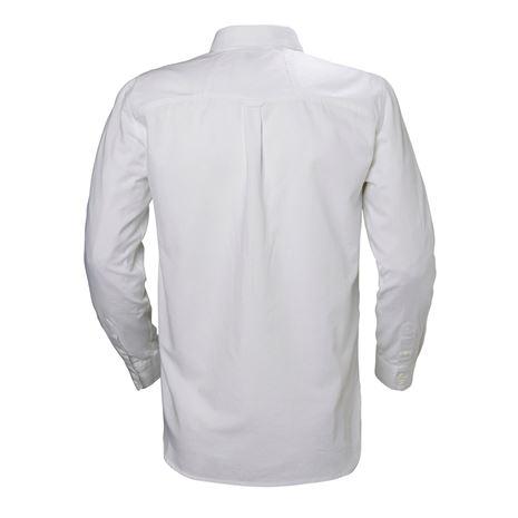 Helly Hansen Crew Club LS Shirt - White - Rear