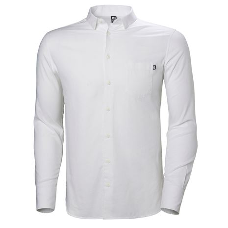 Helly Hansen Crew Club LS Shirt - White