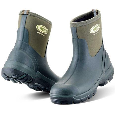 Grubs Midline 5.0 Wellington Boot - Moss Green