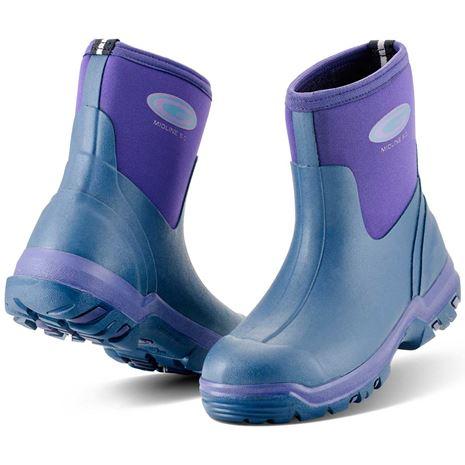 Grubs Midline 5.0 Wellington Boot - Violet