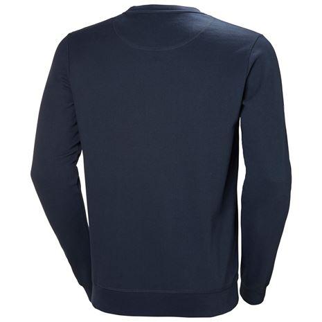 Helly Hansen Crew Sweatshirt - Navy - Rear