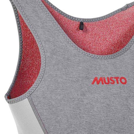 Musto Women's Flexlite Vapour 1.0 Long John - Grey Marle
