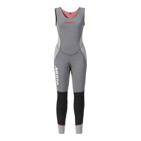 Musto Women's Flexlite Vapour 1.0 Long John - Grey Marle