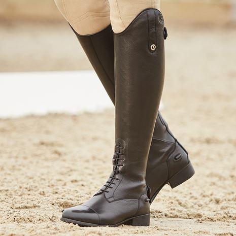 Dublin Holywell Tall Field Boots - Black