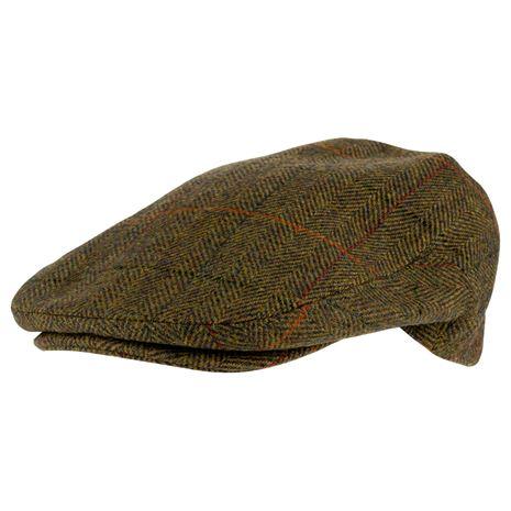 Jack Pyke Junior Wool Blend Flat Cap - Brown Tweed