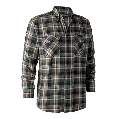Deerhunter Marvin Shirt  - Green Check