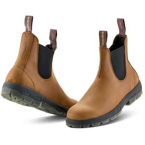 Grubs Cyclone Leather Boot - Havana