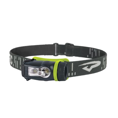 Princeton Tec Axis Rechargeable Headlamp - Lime and Grey