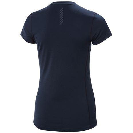 Helly Hansen Women's HH Lifa Active Solen T Shirt - Navy - Rear
