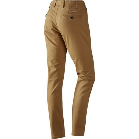 Harkila Norberg Lady Chinos - Antique Sand - Rear