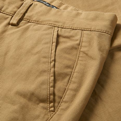 Harkila Norberg Lady Chinos - Antique Sand - Detail