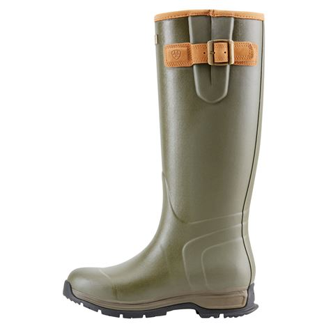 Ariat Women's Burford Insulated Wellington Boot - Olive Green