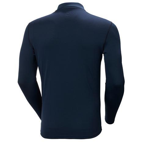 Helly Hansen HH Lifa Active Solen LS Polo Shirt - Navy - Rear