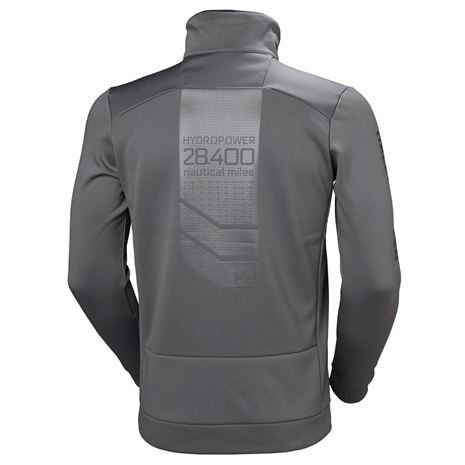Helly Hansen HP Fleece Jacket - Quiet Shade - Rear