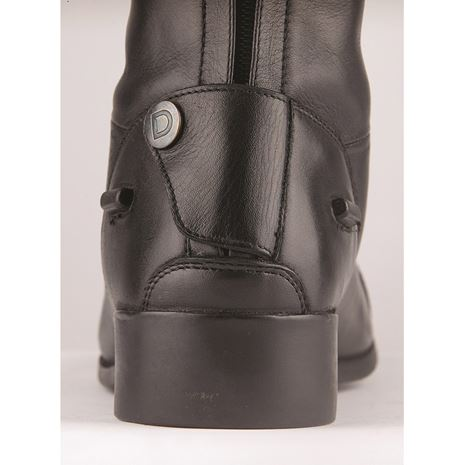 Dublin Galtymore Tall Field Boots - Black - Popper Button Detail