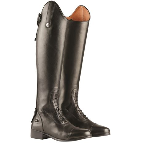 Dublin Galtymore Tall Field Boots - Black - Pair - Front View
