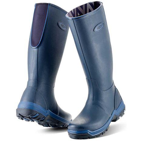 Grubs Rainline Wellington Boots - Navy