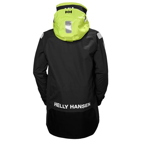 Helly Hansen Aegir Ocean Jacket - Ebony - Rear