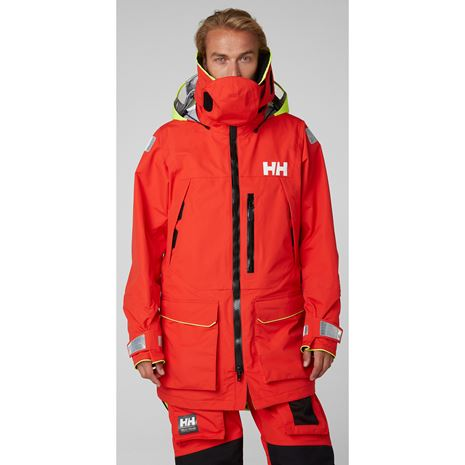 Helly Hansen Aegir Ocean Jacket - Alert Red
