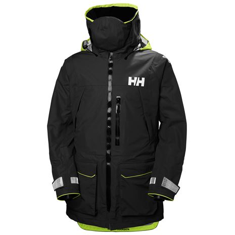 Helly Hansen Aegir Ocean Jacket - Ebony