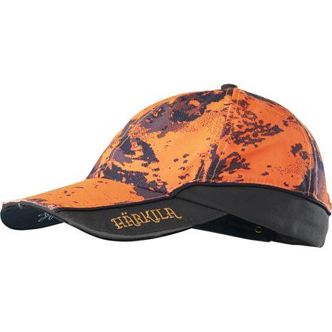 Harkila Lynx Safety Light Cap - Orange Blaze