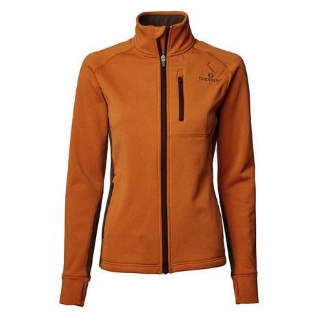 Chevalier Tay Women's Fleece - Orange/Brown