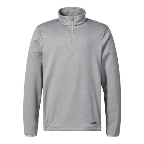 Musto ESS ½ Zip Sweat - Grey Marle