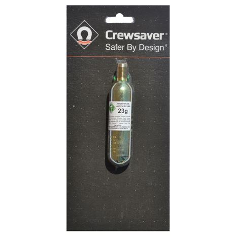 Crewsaver Replacement CO2 Cylinders - 10479 - 23g