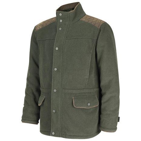 Hoggs of Fife Sportsman II Waterproof Fleece Jacket - Green