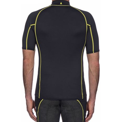 Musto Sunblock Short Sleeve Rash Guard - Black