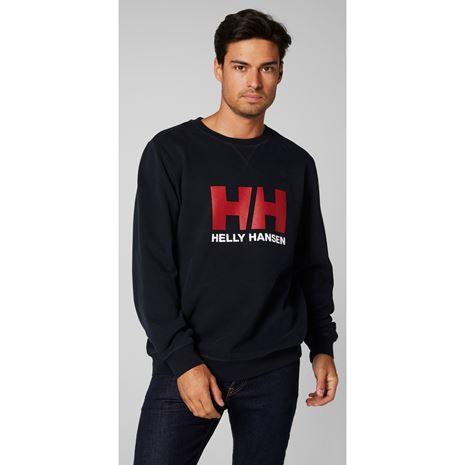 Helly Hansen HH Logo Crew Sweat - Navy